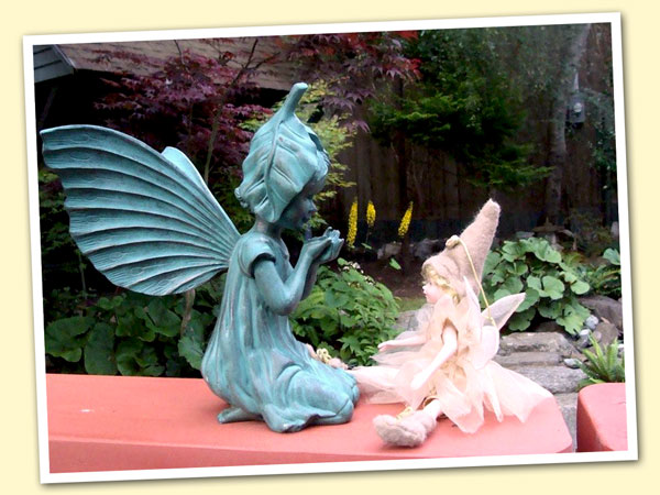The GIFT OF FRIENDSHIP AND SHARING FROM ALL OF THE GARDEN FAIRIES!!